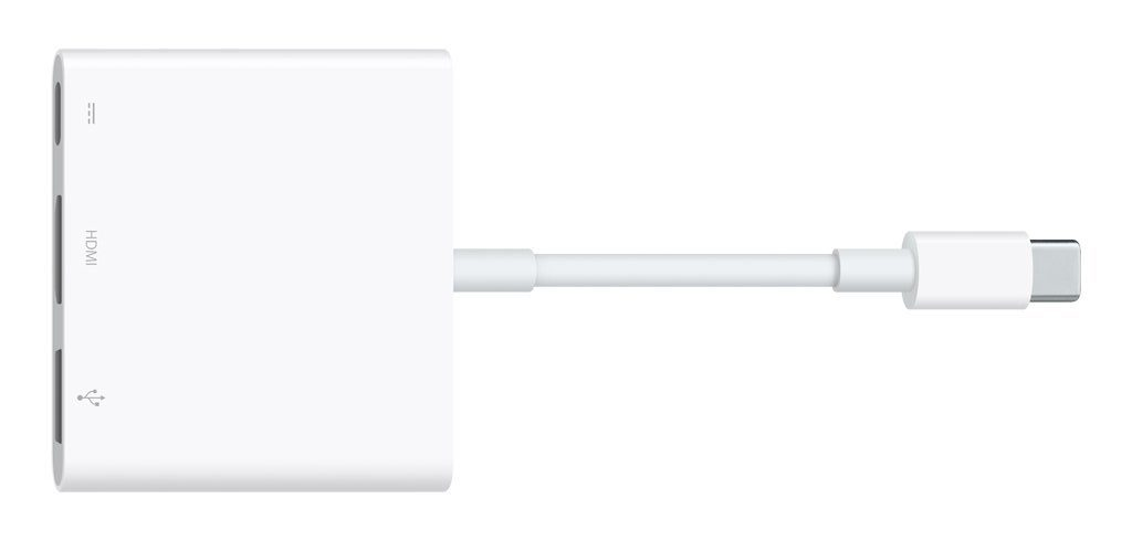 MacBook Pro Docking Solution with Apple Adapter