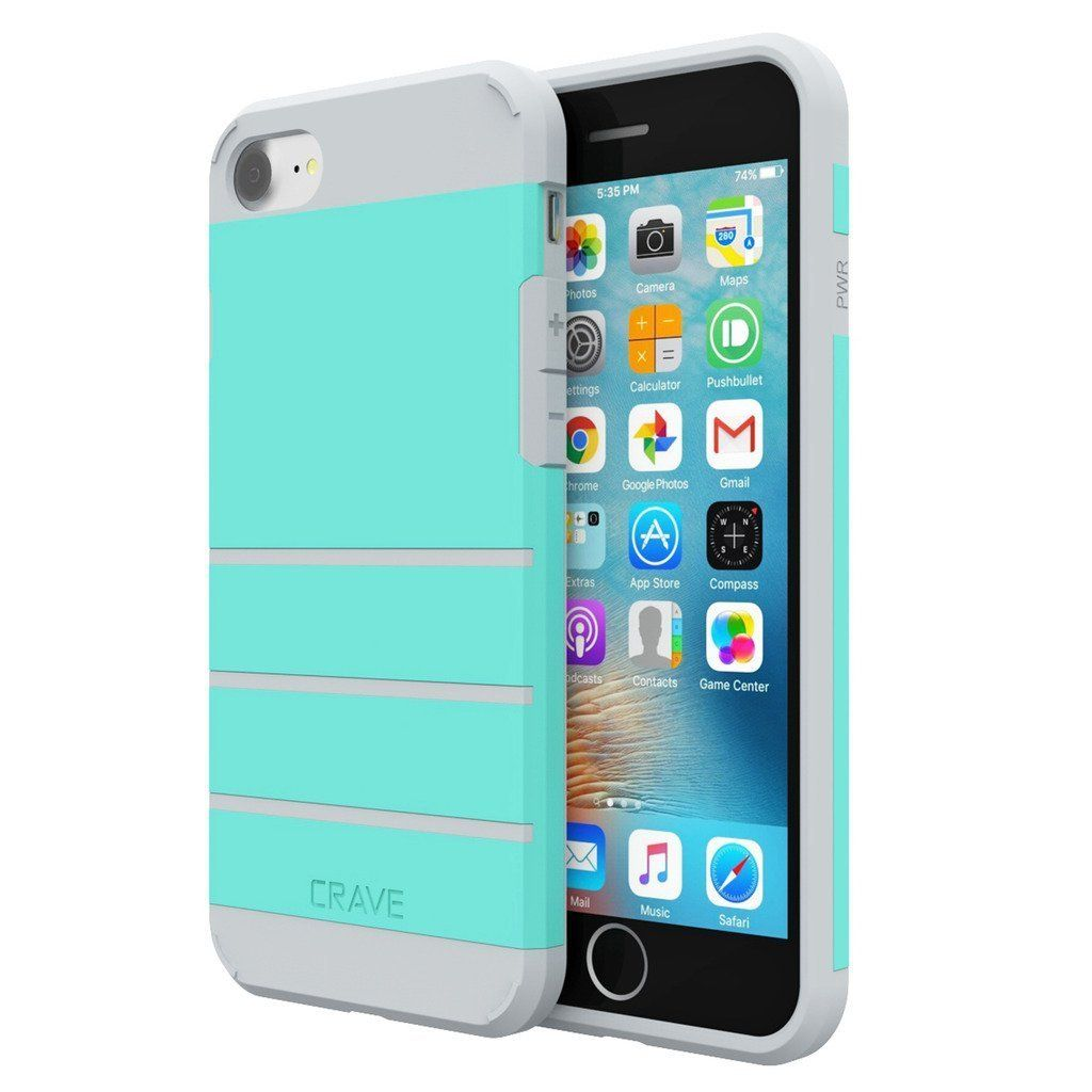 Crave Strong Guard Protection for iPhone 7 - 4 Colors, Mint is Fresh