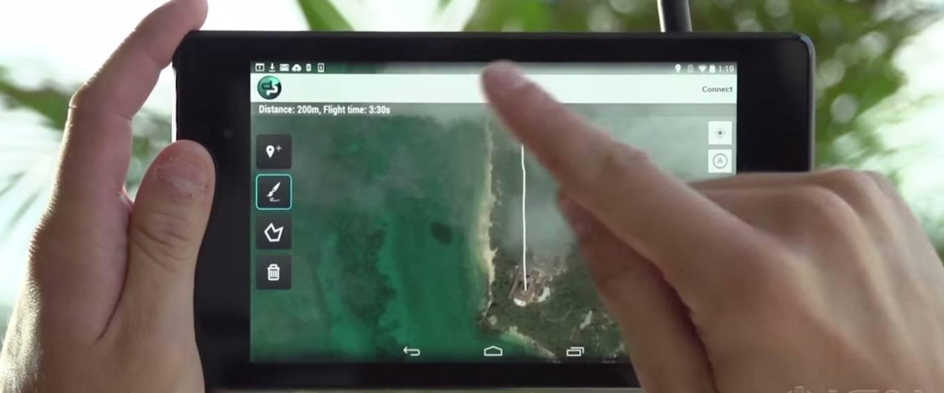IRIS + personal drone
