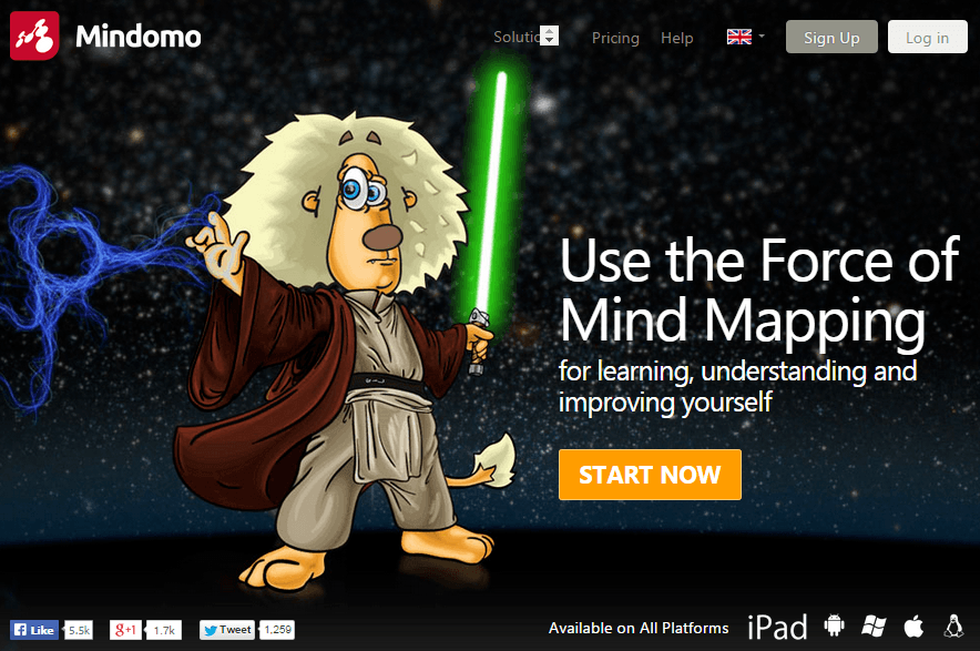 Mind map - Mindomo