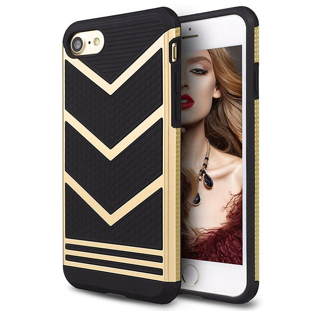 Mothca 2 in 1 Classic Sporty iPhone 7 Case for the Night Out