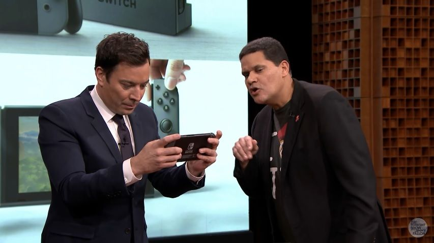 Nintendo Switch Jimmy Fallon