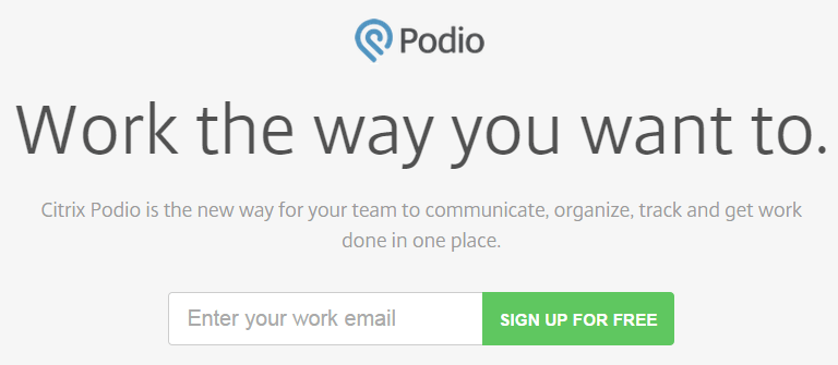 Project Management - Podio