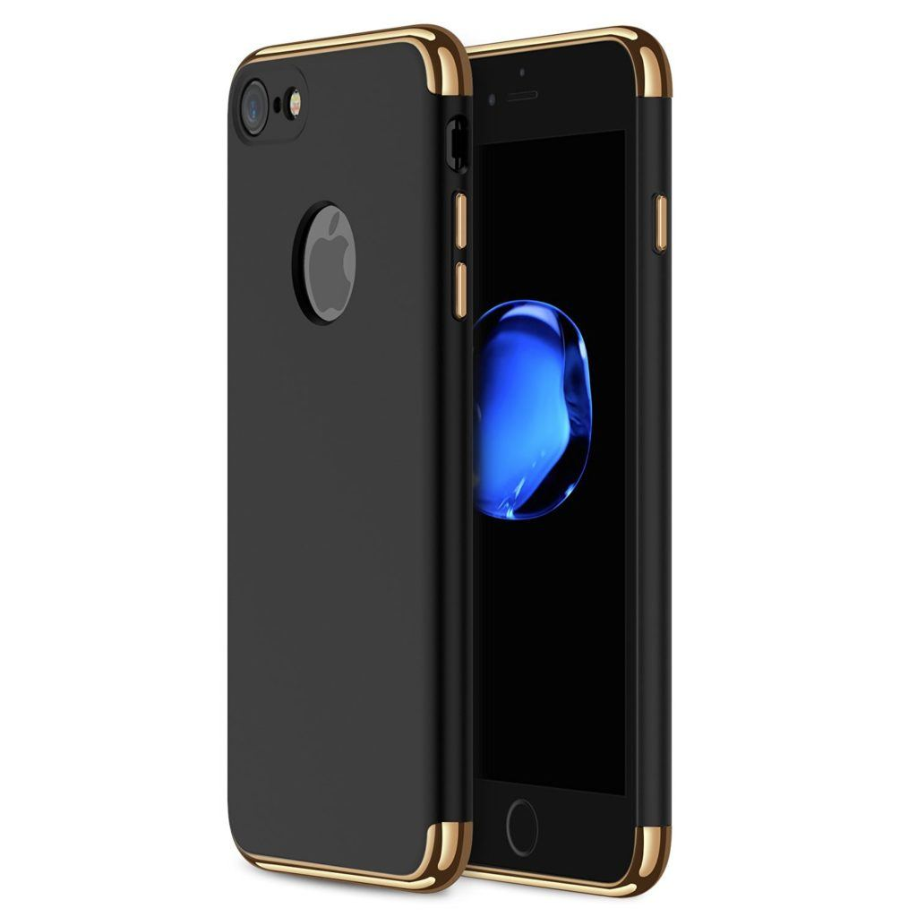 RANVOO 3 in 1 iPhone 7 Case with Top and Bottom inserts. 6 Color Choices
