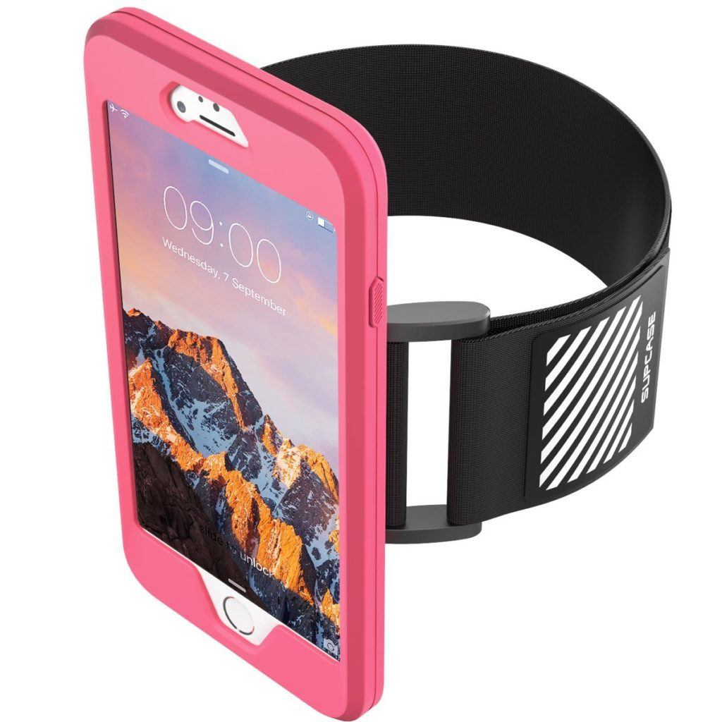 SUPCASE Armband for the iPhone 7 For Running. The armband is Removable too!
