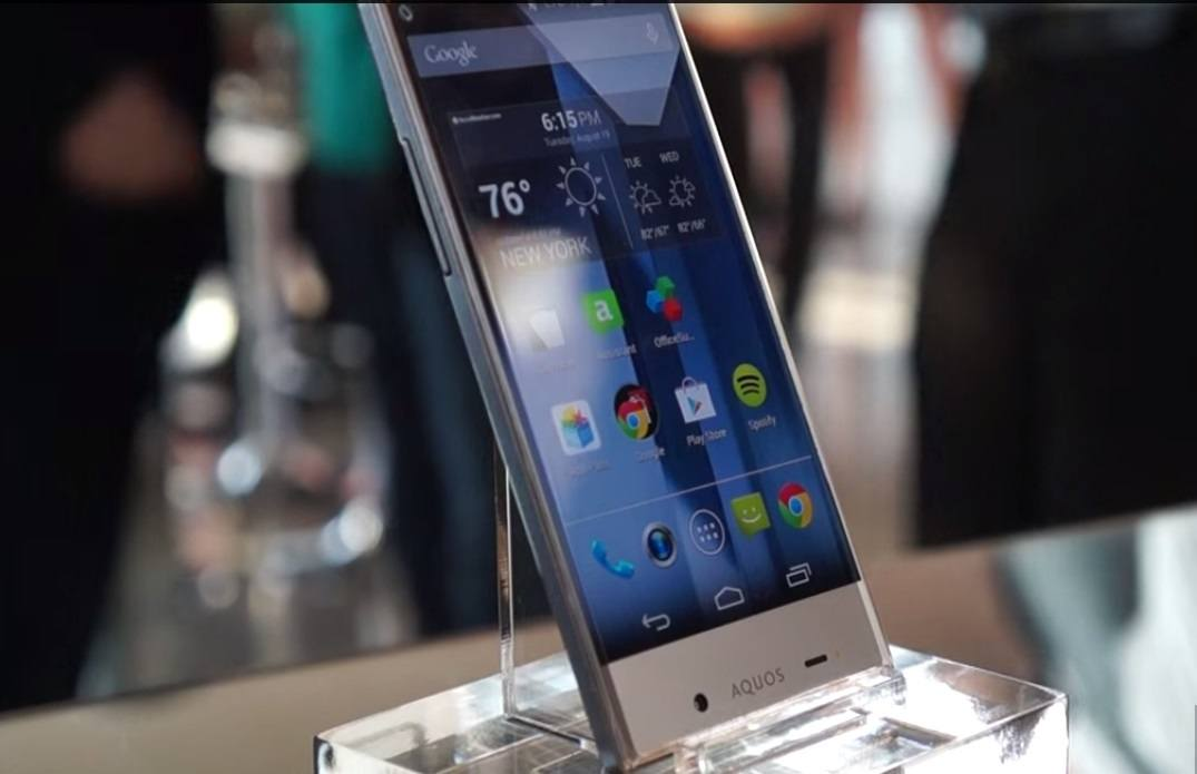 Sharp Aquos Crystal Smartphone - TechieIO com