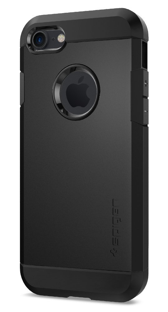 Spigen Tough Armor iPhone 7 Case with Extreme Heavy Duty Protection and Air Cushion Technology for iPhone 7 2016 - Black