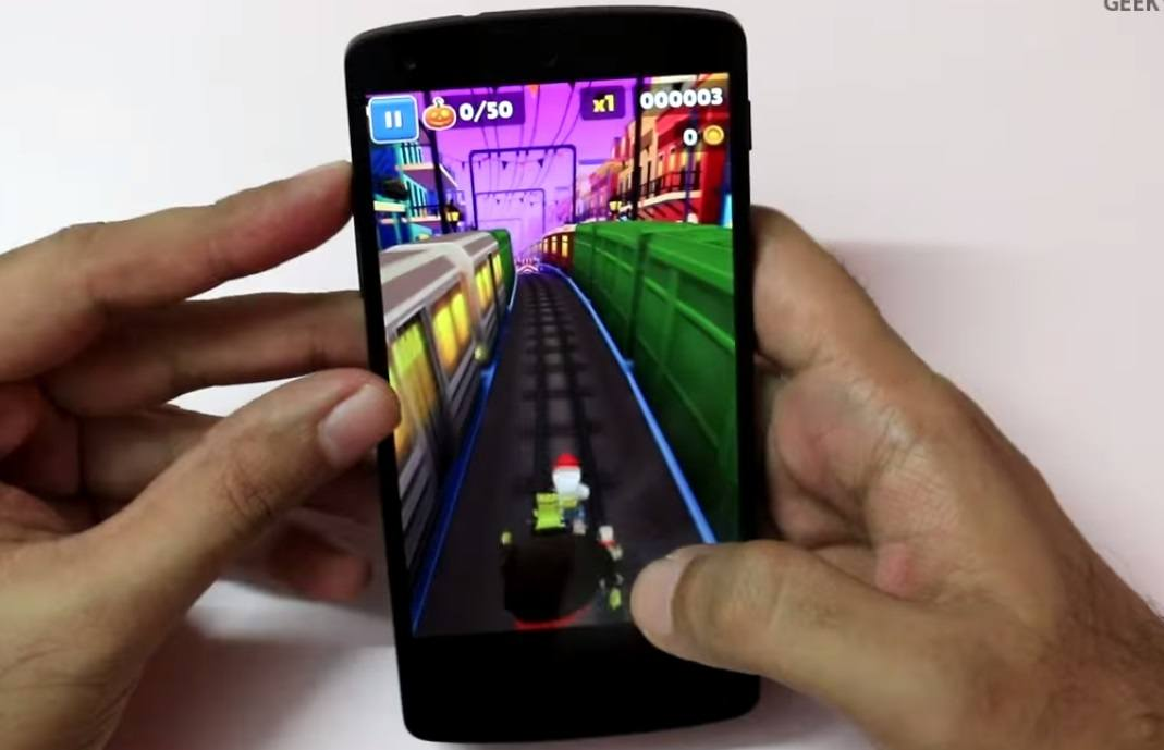 Top 5 Gaming phones 2014