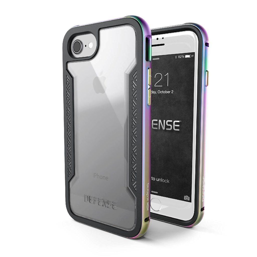 iPhone 7 Case X-Doria Defense Shield Series - Awesome Iridescent Case