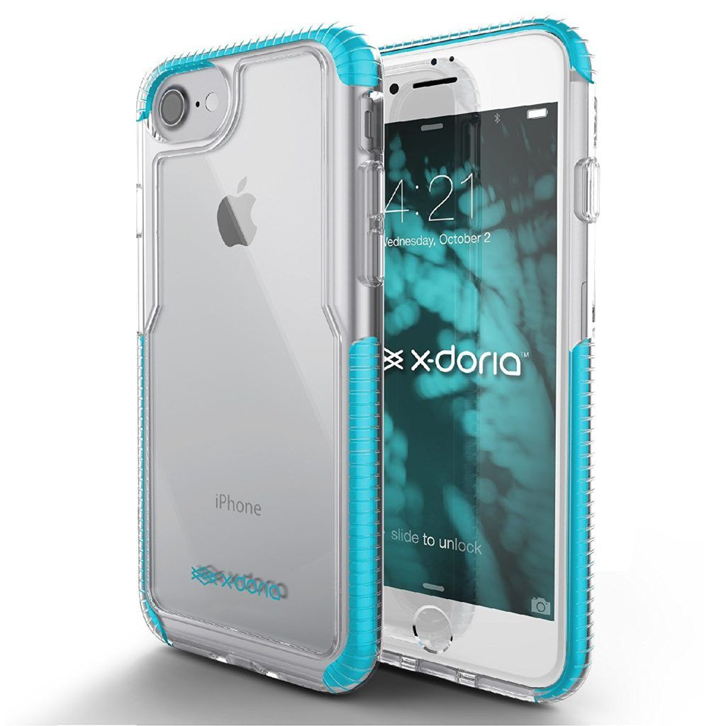 X-Doria Rumble Series iPhone 7 Two Tone Clear Case